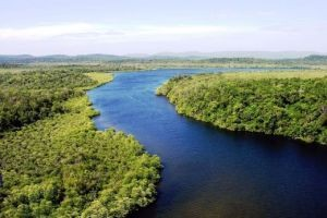 Ta Tai River in Koh Kong province