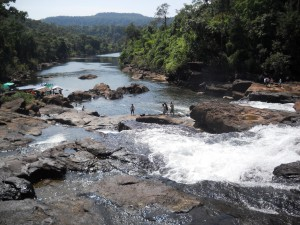 One of the many waterfalls in Koh Kong, By: Gabi Yetter