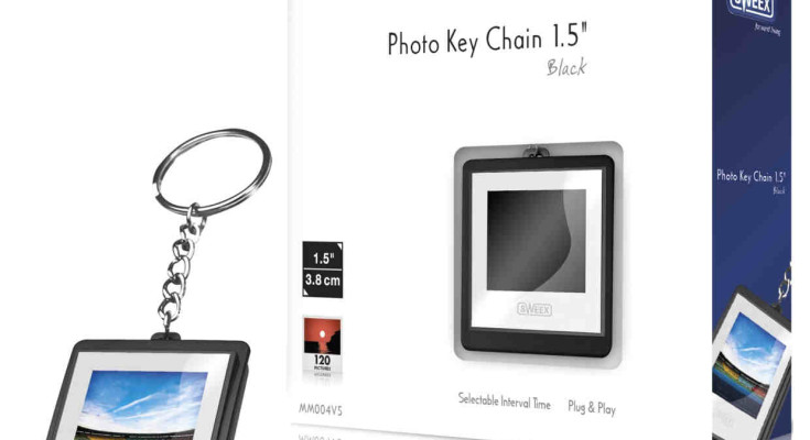 Sweex Digital Photo Key Chain