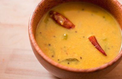 Tooca dhal, soup/curry/savory snack all in one!