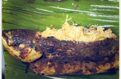 Ikan Sumbat/ Stuffed Grilled Fish, By: Erna Dyanty