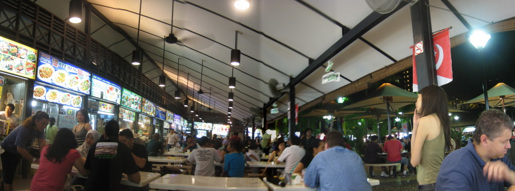 Newton Food Centre, By: Ernesto Andrade