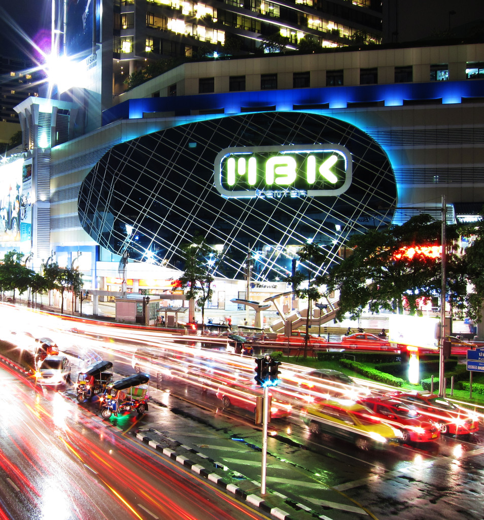 MBK mall in Bangkok, By: Mike Behnken