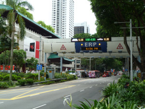 ERP gate on Orchard Road, By: M. Roach