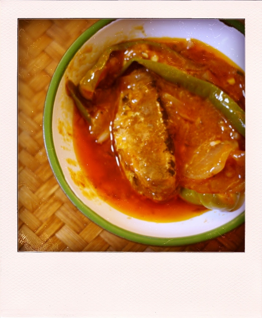 Sardines in Tomato sauce, a classic out of a can, By: Erna Dyanty