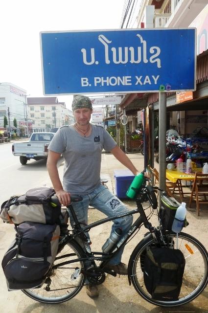 in Laos...