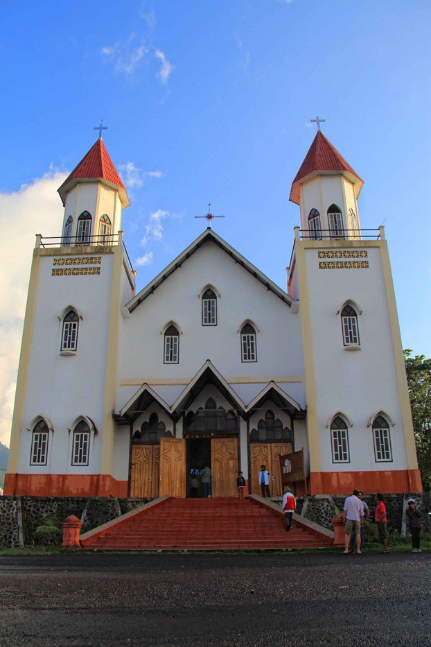 The majority in Flores is Catholic