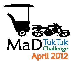 mad tuk tuk challenge logo 2012