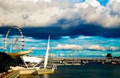 Marina skyline, By: Farah Ong