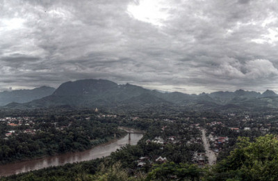 View of Luang Prabang, By: Simon Asia