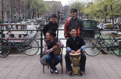 Kunming Hip Hop band West Hill in Amsterdam
