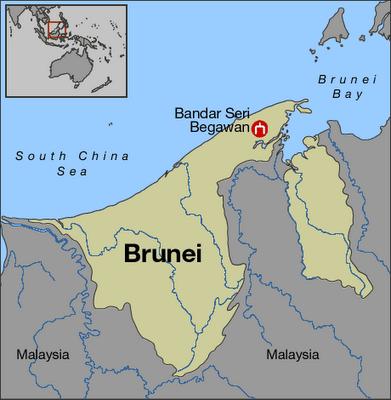 City Reflection Bandar Seri Begawan Brunei Latitudes