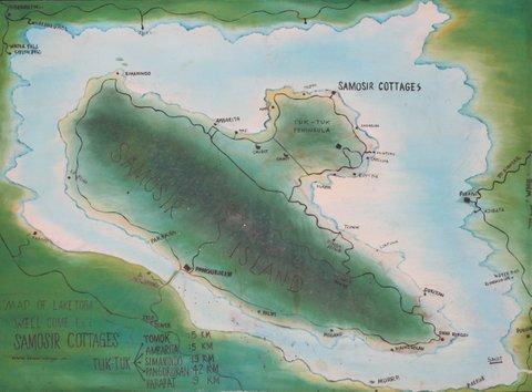 map Lake Toba
