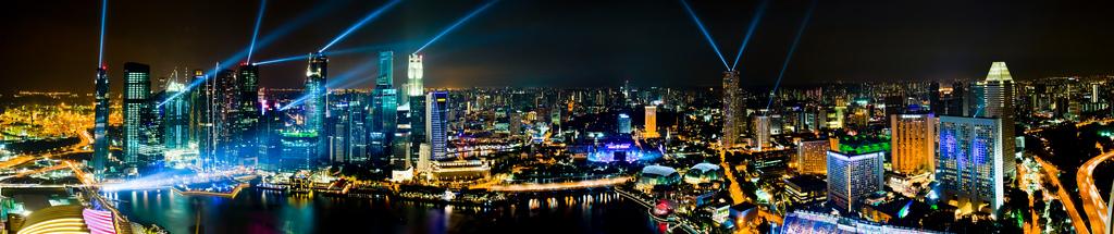 The glitter & gold at Marina Bay Sands, By: Jiahui Huang