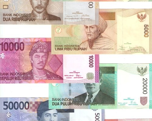 The Indonesian Rupiah Money With Character A Lot Of Zeros Latitudes