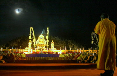 Vesak or Waisak is often reffered to as Buddha's Birthday, By: Putri Fitria