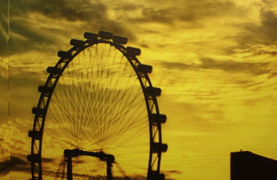 Singapore Flyer, By: Marina