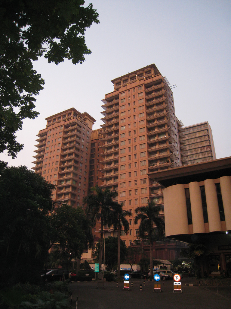 A typical residential apartment block in Jakarta, By: Andrew Kippen
