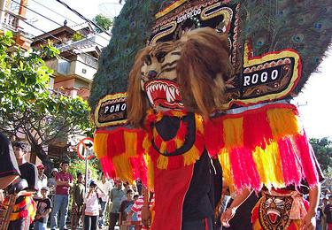 Dance performance at the Bali Arts Festival, By: Pandu Adnyana