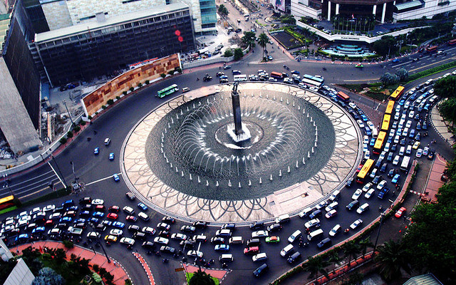 Jakarta can have you spinning in circles, By: Bonita Suraputra