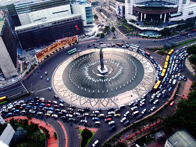 Jakarta can have you spinning in circles, By: Bonita Suraputra