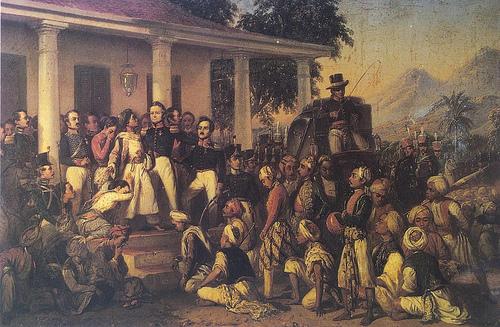 The Capture of prince Diponegoro (1857) Raden Saleh