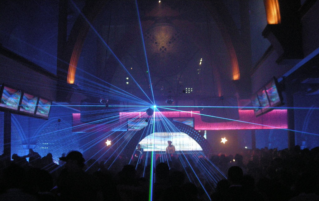 X2 Nightclub in Jakarta filled to the rim, By: Rollan Budi