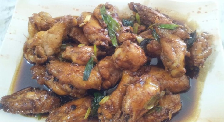 Sweet & delicious ayam kecap manis, By: Chef Heroe