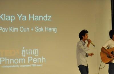 klap ya handz for TEDx in Phnom Penh, By: Gabrielle Yetter