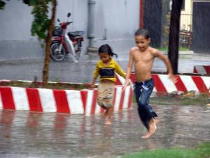 Rain in Phnom Penh, By: Allie Caulfield
