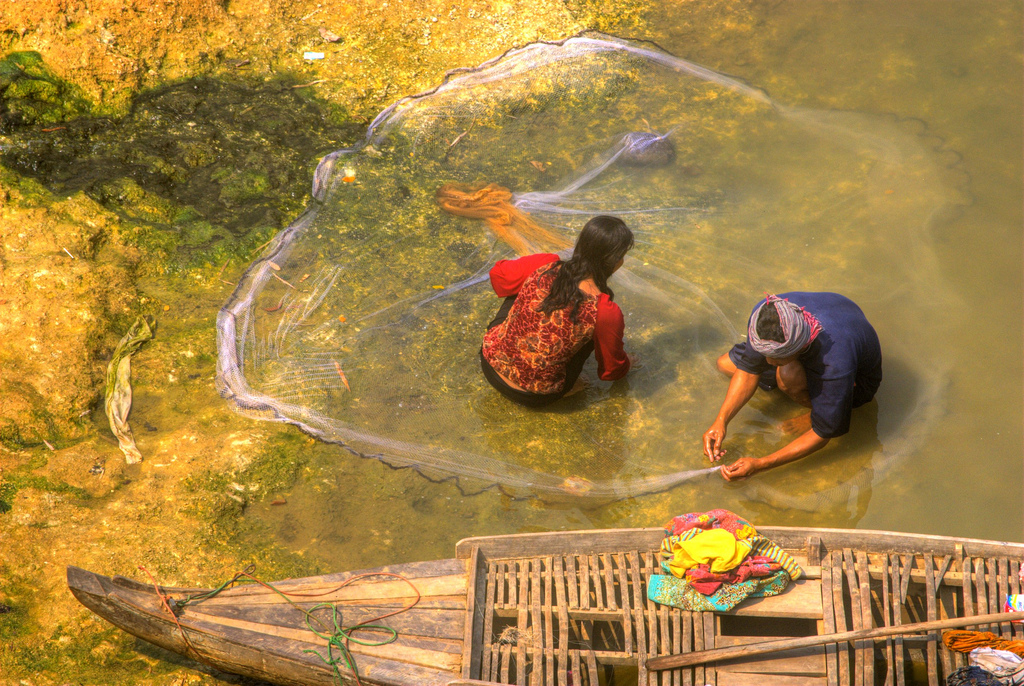 Fishing in Battambang, By: Adam Inglis