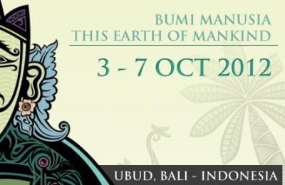 Ubud Writers & Readers festival 2012