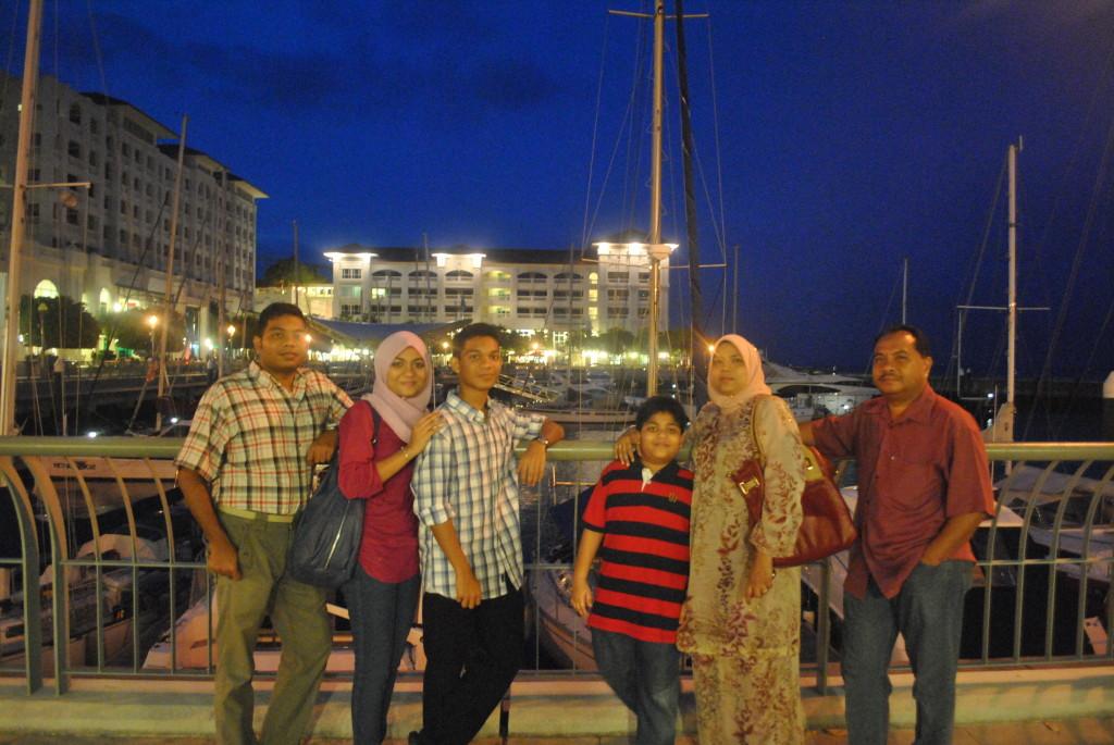 Muhammad and family