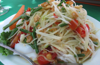 Papaya salad, By: Jeff Allen