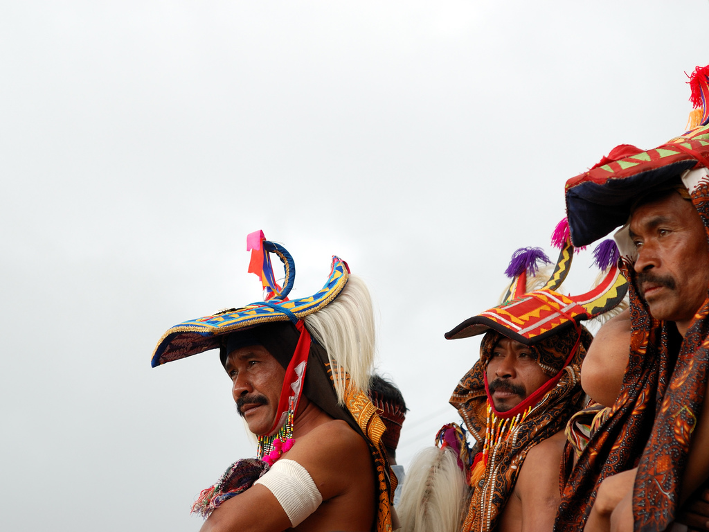 Caci war dance in Ruteng, Flores, By: Rosino