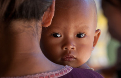 Cambodian baby