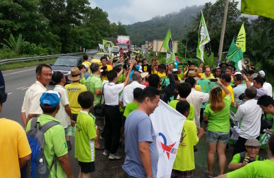 The Green Walk, 300 km for environmental justice