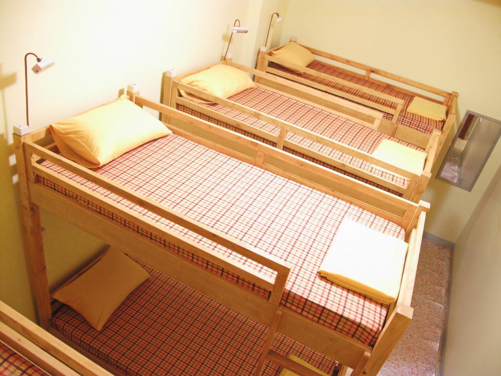Fresh and clean dorm at Kamar-Kamar hostel Jakarta