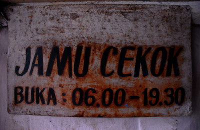Jamu Cekok, open for service