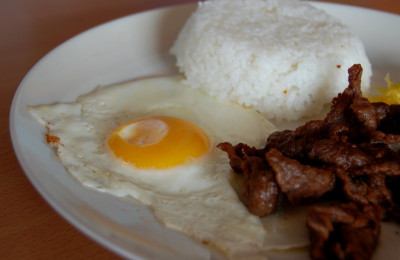 The perfect breakfast: TAPSILOG, By: Shubert Ciencia