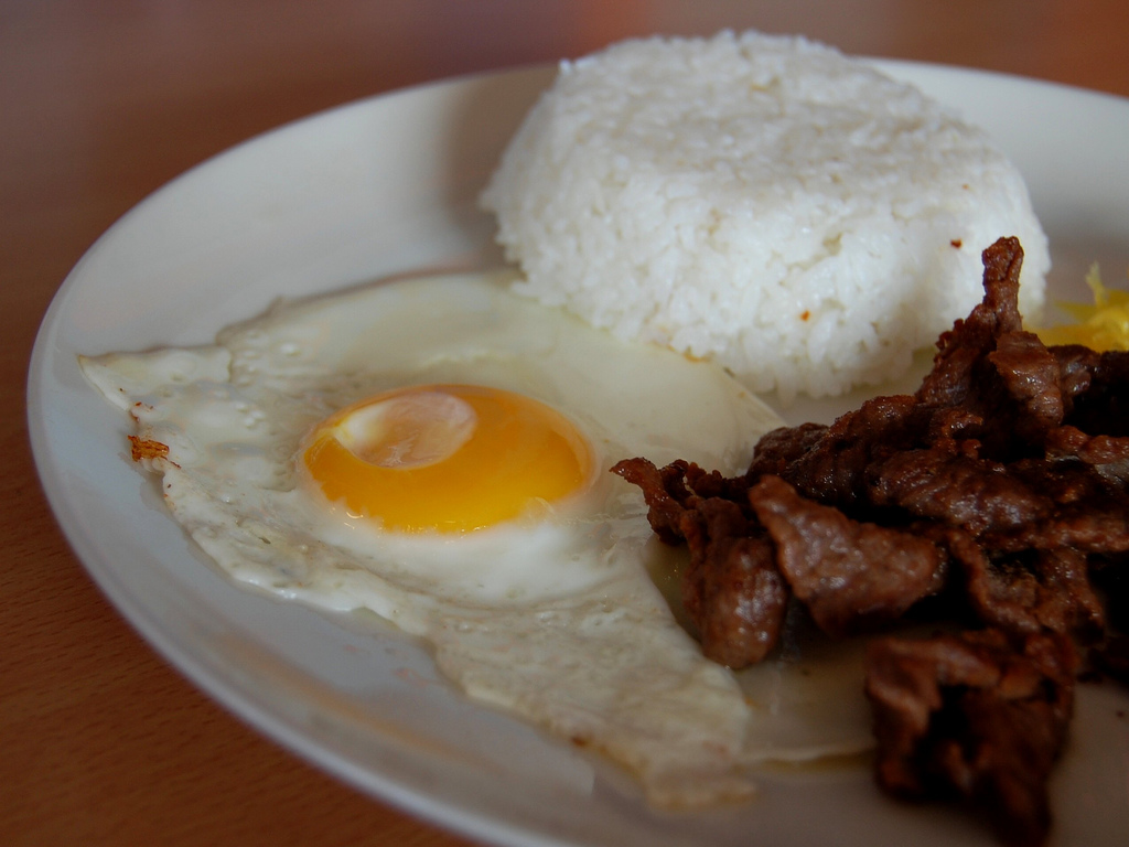 The perfect breakfast: TAPSILOG, By: Shubert Ciencia