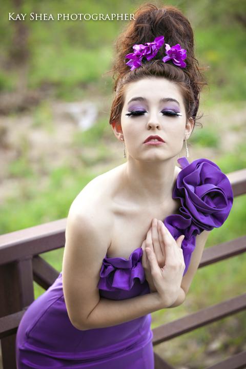 Jessa pretty in purple