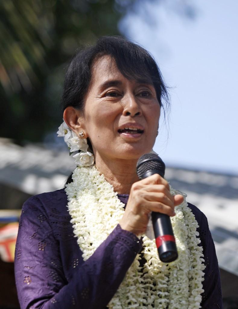 Aung San Suu Kyi in 2011