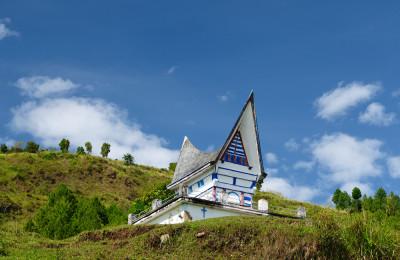 Church in Batak area Sumatra By: Shutterstock