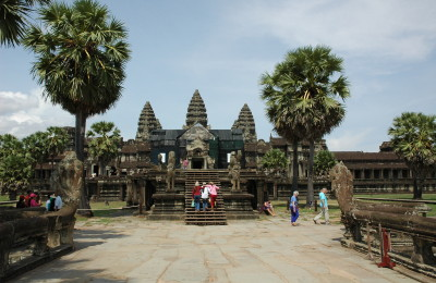 Angkor Wat by Peter van Riel