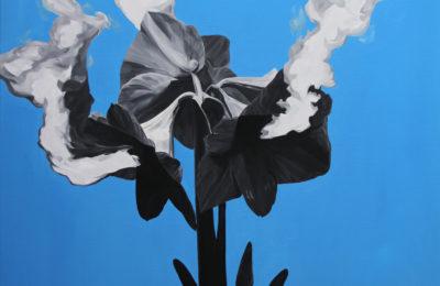 quach-bac_-nhung-hoa-tho-khoi-ngay_smoke-breathing-flowers_2016_oil-on-canvas_120-x-100-cm